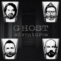 Set of (4) Four Ghost Adventures Shot Glasses Zak Bagans Horror Paranormal Free Shipping Merch Massacre