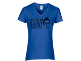 Ghost Adventures Zak Bagans Ladies V Neck T Shirt Adult S-3X Horror Free Shipping Merch Massacre