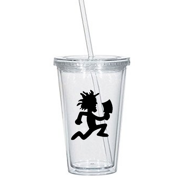 ICP Tumbler Cup Hatchetman Hatchetgirl Hatchet Man Hatchet Girl Juggalo Juggalette Insane Pop Culture Clown Nerd Geek Free Shipping Merch Massacre