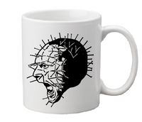 Hellraiser Mug Coffee Cup White Pinhead Cenobite Demon Hell Torture I'll Tear Your Soul Apart Pain Horror Halloween Free Shipping Merch Massacre