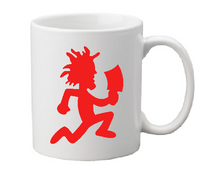 ICP Mug Coffee Cup White Hatchetgirl Wicked Hatchetman Clown Hatchet Man Hatchet Girl Juggalo Juggalette Horror Halloween Free Shipping Merch Massacre
