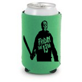Friday the 13th Jason Vorhees Can Cooler Sleeve Bottle Holder Free Shipping Merch Massacre