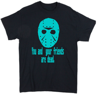 Friday the 13th T Shirt Adult Clothes S-5X Jason Voorhees Slasher Camp Killer Crystal Lake Horror Halloween Unisex Free Shipping Merch Massacre