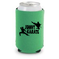 Parks and Recreation Johnny Karate Can Cooler Sleeve Bottle Holder Free Shipping Merch Massacre