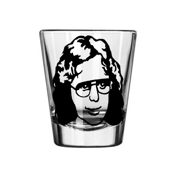 True Crime Shot Glass David Koresh Waco Jesus Cult Mass Suicide Serial Killer Horror Slasher Nerd Geek Halloween Free Shipping Merch Massacre
