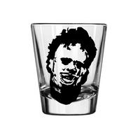 Texas Chainsaw Massacre Shot Glass Killer Horror Saw is Family Free Shipping Merch Massacre