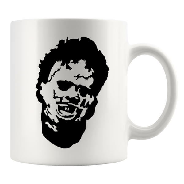 Texas Chainsaw Massacre Mug Coffee Cup White Leatherface Slasher Killer Horror Halloween Free Shipping Merch Massacre