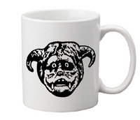 Labyrinth Mug Coffee Cup White Ludo Worm Dark Crystal Bluto Pluto Goblin King Fantasy Funny LOL Halloween Free Shipping Merch Massacre