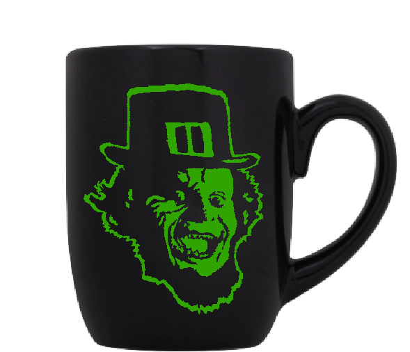 Leprechaun Mug Coffee Cup Black Irish Slasher Killer Gold Revenge Curse Comedy Funny LOL Fantasy Sci Fi Halloween Free Shipping Merch Massacre
