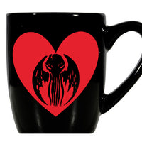 Lovecraft Mug Coffee Cup Black Cthulhu HP Elder Sign Cosmic Eldritch Horror Cthulu Weird Tales Strange Sci Fi Halloween Free Shipping Merch Massacre