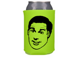 The Office Michael Scott Can Cooler Sleeve Bottle Holder Dunder Mifflin Free Shipping Merch Massacre