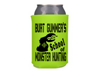 Tremors Burt Gummer Can Cooler Sleeve Bottle Holder Graboid Free Shipping Merch Massacre