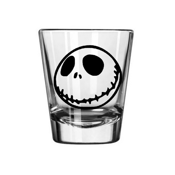 Nightmare Before Christmas Shot Glass Jack Skellington Oogie Boogie Zero NBC Holiday Musical Funny Geek Nerd Halloween Free Shipping Merch Massacre