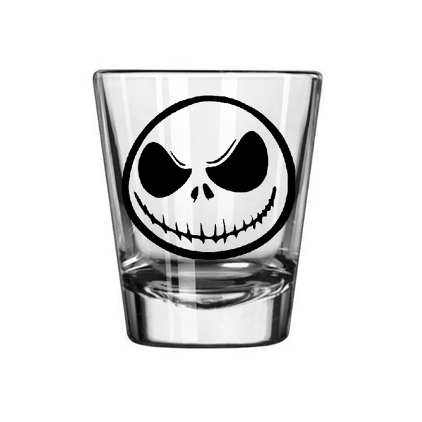 Nightmare Before Christmas Shot Glass Jack Skellington Halloween Oogie Boogie Zero NBC Holiday Halloween Free Shipping Merch Massacre