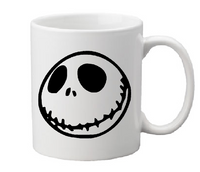 Nightmare Before Christmas Mug Coffee Cup White Jack Skellington Sally Oogie Boogie Zero Comedy Musical Horror Halloween Free Shipping Merch Massacre