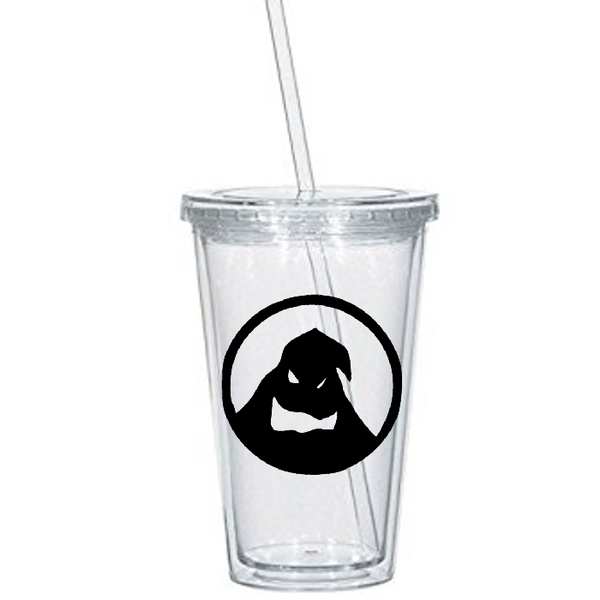 Nightmare Before Christmas Tumbler Cup Oogie Boogie Jack Skellington Sally Simply Meant to Be Zero Funny LOL Halloween Free Shipping Merch Massacre