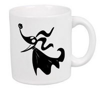 Nightmare Before Christmas Mug Coffee Cup White Zero Oogie Boogie Jack Skellington Sally Comedy Musical Horror Halloween Free Shipping Merch Massacre