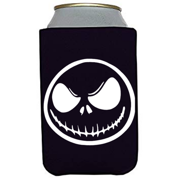 Nightmare Before Christmas Jack Can Cooler Sleeve Bottle Holder Free Shipping Merch Massacre
