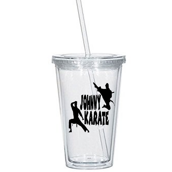 Parks and Rec Tumbler Cup Johnny Karate Recreation Ron Swanson Pawnee IN Indiana Pop Culture Comedy Funny LOL Nerd Geek Free Shipping Merch Massacre