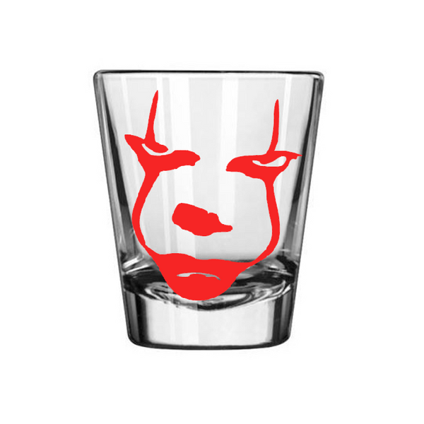 It Shot Glass Pennywise Clown You'll Float Too Killer Slasher Penny Wise Derry Maine Horror Sci Fi Nerd Geek Halloween Free Shipping Merch Massacre