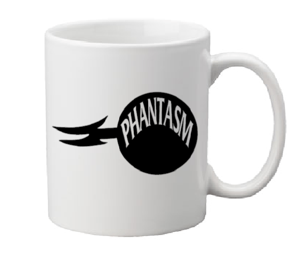 Phantasm Mug Coffee Cup White Tallman Tall Man Sphere Undead Zombie Mortician Undertaker Lobotomy Horror Halloween Free Shipping Merch Massacre