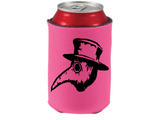 Plague Doctor Virus Viral Can Cooler Sleeve Bottle Holder Horror Free Shipping Merch Massacre