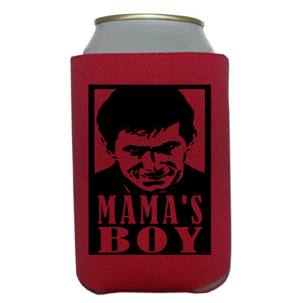 Psycho Mama's Boy Can Cooler Sleeve Bottle Holder Free Shipping Merch Massacre