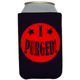 Purge Can Cooler Sleeve Bottle Holder I Purged Free Shipping Merch Massacre