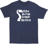 Tommy Boy T Shirt Adult Clothes S-5X I Live in a Van Down By the River Holy Schnikeys SNL Quote Funny LOL Comedy Unisex Free Shipping Merch Massacre