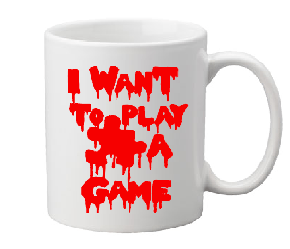 Saw Mug Coffee Cup White I Want To Play A Game Jigsaw Billy Bloody Torture Porn Extreme Horror Halloween Free Shipping Merch Massacre