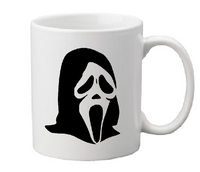 Scream Mug Coffee Cup White I Like Scary Movies What's Your Favorite Movie Serial Killer True Crime Horror Halloween Free Shipping Merch Massacre