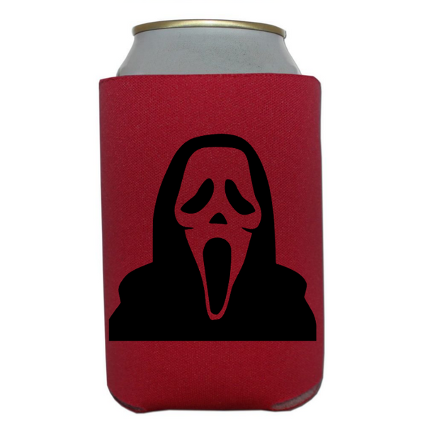 Scream Can  Cooler Sleeve Bottle Holder Slasher Horror Movie Serial Killer Halloween Free Shipping Merch Massacre