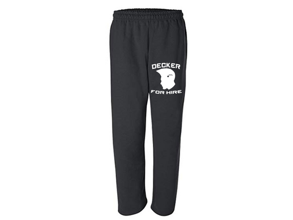 Gamer Sweatpants Pants S-5X Adult Clothes Shadowrun Decker For Hire Street Samurai RPG Tabletop Gaming Slot Off Frag Face Free Shipping Merch Massacre