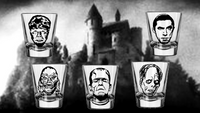 Universal Monsters Shot Glasses Dracula Creature Black Lagoon Wolfman Frankenstein Classic Horror Nerd Geek Halloween Free Shipping Merch Massacre