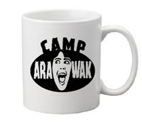 Sleepaway Camp Mug Coffee Cup White Arawak Angela Campground Killer Slasher Sleep Away Free Shipping Merch Massacre
