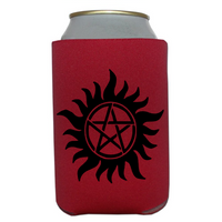 Supernatural Anti-Possession Can Cooler Sleeve Bottle Holder Winchester Sam Dean Free Shipping Merch Massacre