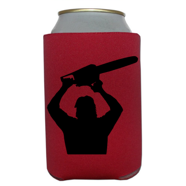 Texas Chainsaw Massacre Can Cooler Sleeve Bottle Holder Slasher Horror Free Shipping Merch Massacre