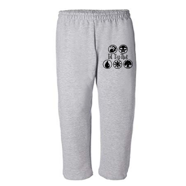Gamer Sweatpants Pants S-5X Adult Clothes Magic I'd Tap That Mana Gathering Card Game Tabletop Gaming RPG Fantasy Free Shipping Merch Massacre