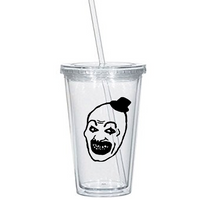 Terrifier Tumbler Cup Art the Clown Serial Killer Horror Slasher Killer Violent Scary Creepy Funny LOL Halloween Nerd Free Shipping Merch Massacre