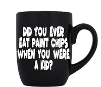 Tommy Boy Mug Coffee Cup Black Paint Chips Holy Schnikeys! I Live In a Van Down By the River SNL Funny Comedy Quote LOL Free Shipping Merch Massacre