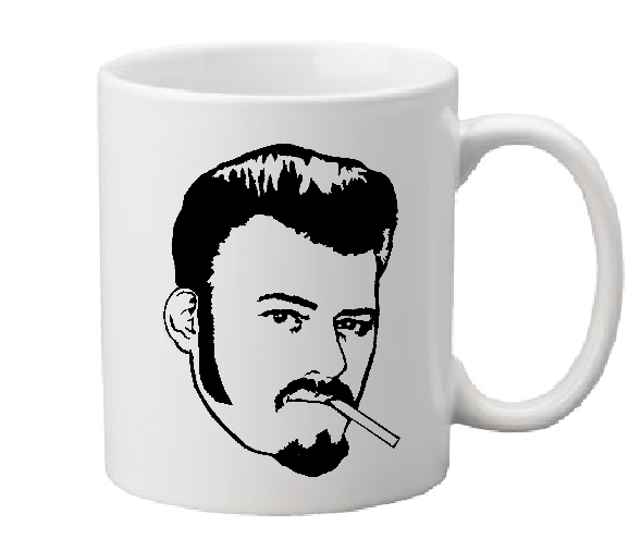 Trailer Park Boys Mug Coffee Cup White Ricky Randy Jim Lahey Julian Bubbles Sunnyvale Raunchy Comedy Funny Documentary Free Shipping Merch Massacre