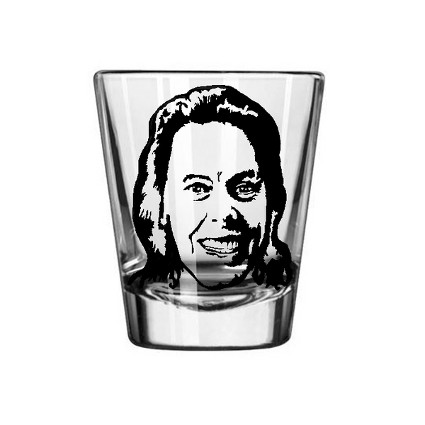 True Crime Aileen Wuornos Shot Glass Monster Female Serial Killer Death Row Horror Slasher Nerd Geek Halloween Free Shipping Merch Massacre