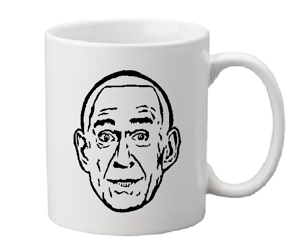 True Crime Mug Coffee Cup White Heaven's Gate Cult Leader Marshall Applewhite Hale-Bopp Away Team UFO Horror Halloween Free Shipping Merch Massacre