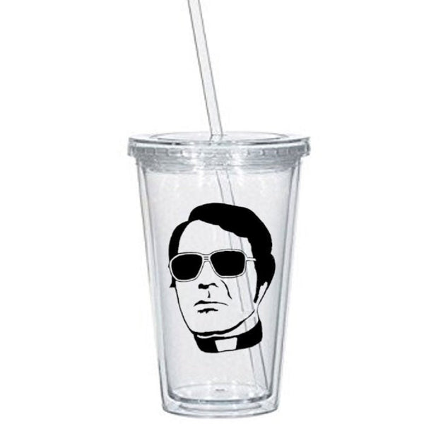 True Crime Tumbler Cup Jim Jones Cult Leader Jonestown People's Temple Mass Suicide Serial Killer Murderer Nerd Halloween Free Shipping Merch Massacre