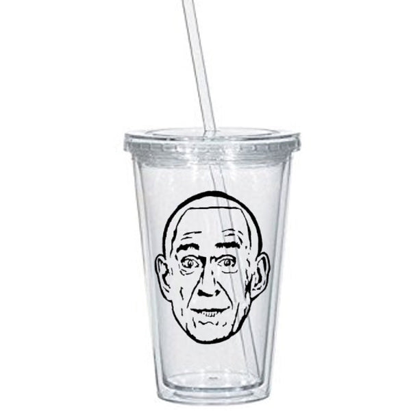 True Crime Tumbler Cup Heaven's Gate Marshall Applewhite Cult Leader UFO Mass Suicide Serial Killer Nerd Geek Halloween Free Shipping Merch Massacre