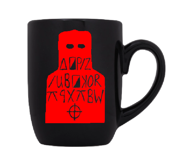 True Crime Mug Coffee Cup Black Zodiac Serial Killer Cipher I Like Killing People Horror Free Shipping Merch Massacre