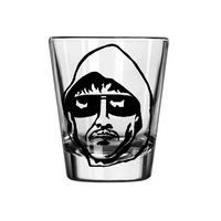 True Crime Shot Glass Unabomber Ted Kaczynski Serial Killer Mass Criminal Murderer Una Bomber Horror  Nerd Geek Halloween Free Shipping Merch Massacre
