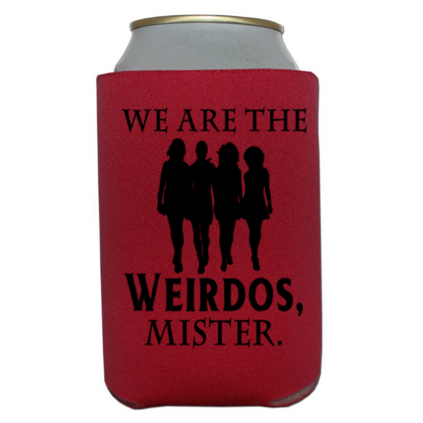 Witch The Craft Can Cooler Sleeve Bottle Holder Weirdos Mister Horror Free Shipping Merch Massacre