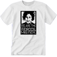 Craft T Shirt Adult Clothes S-5X We Are The Weirdos Mister Wicca Witch Magick Witchcraft Magic Horror Halloween Unisex Free Shipping Merch Massacre
