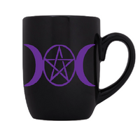 Wicca Mug Coffee Cup Black Pentagram Wiccan Witch Witchcraft Magic Magick Hail Satan Horror Sci Fi Halloween Free Shipping Merch Massacre